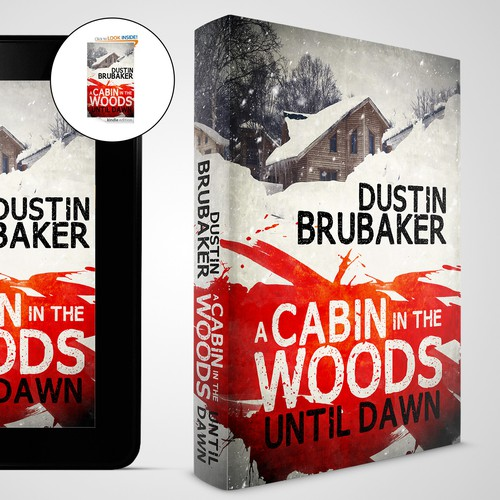 Horror book cover A Cabin in the Woods: Until Dawn
