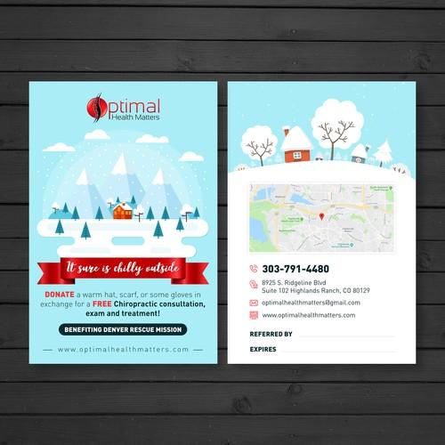 Winter Postcard for Optimal Health Matters