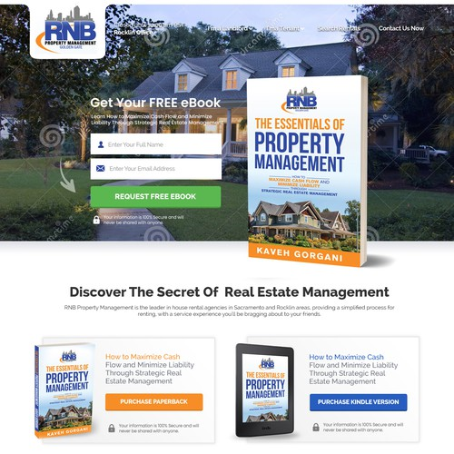 Real Estate Book - Call To Action