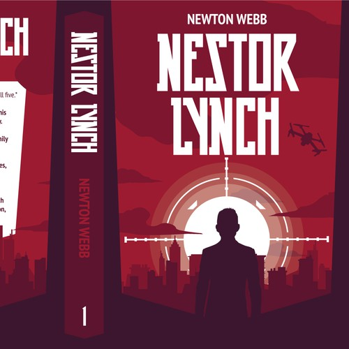 Book cover for a young adult spy adventure