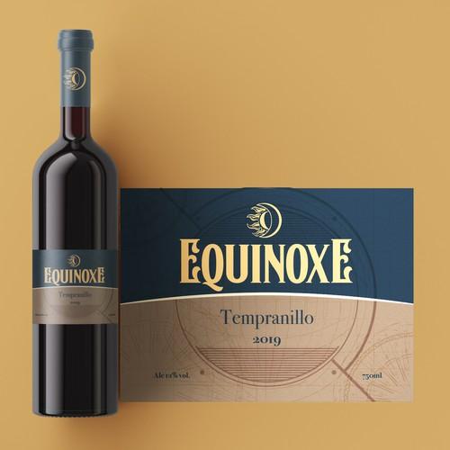 Tempranillo Wine Label