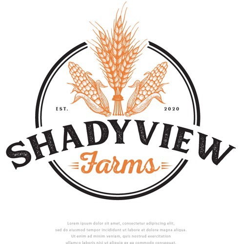 Logo for ShadyView Farms