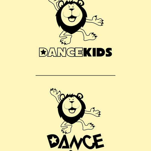 Create a fun childrens logo for Dancekids