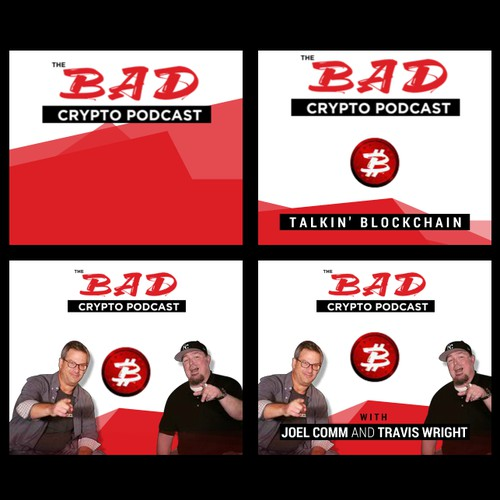 Bad Crypto Podcast Animated Banner