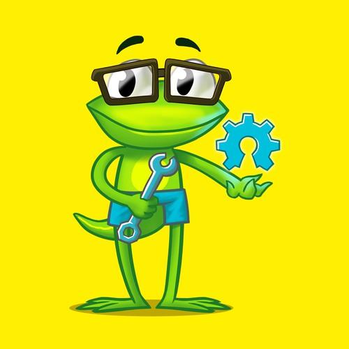 programmer frog