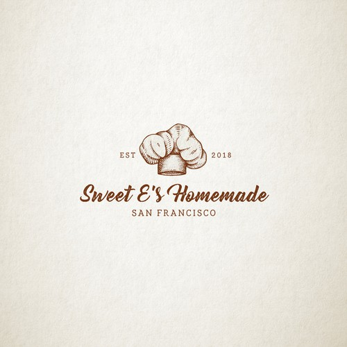 vintage logo for bakery