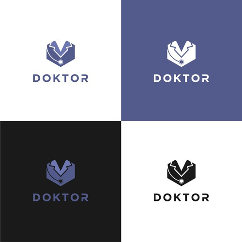 Bold logo concept for DOCTOR.