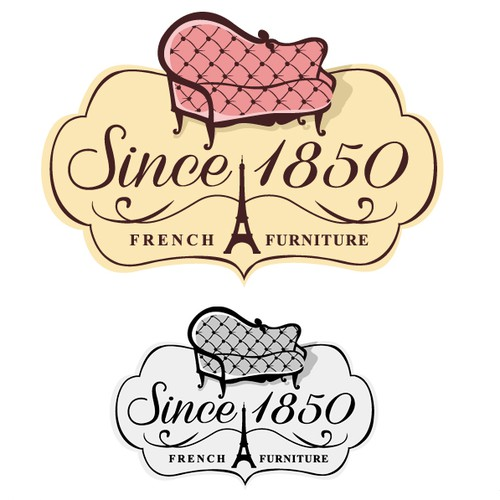 French Antique Furniture Logo