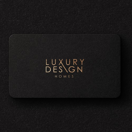 Luxury design logo