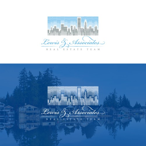 Logo concept for a real estate team.
