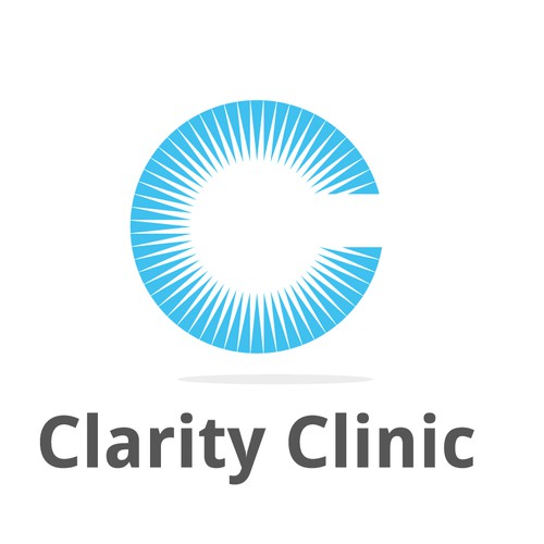 Help us Help others..Clarity Clinic..logo for therapy clinic...hopeful, safe, vitality