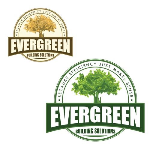 A bold logo for a construction company