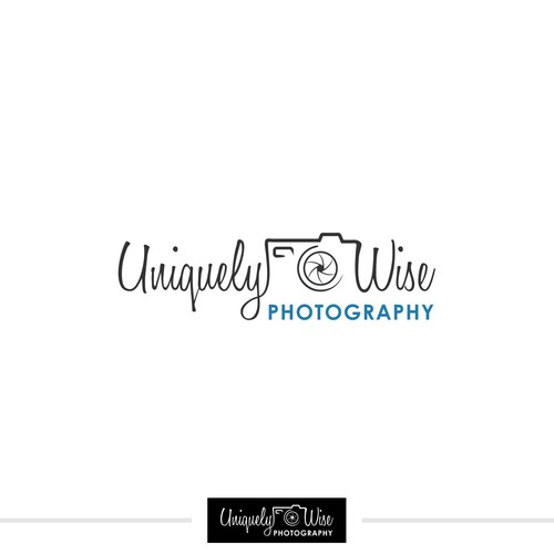 Unique logo needed for a Uniquely wise photographer