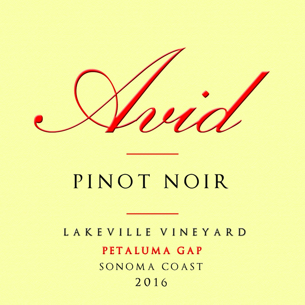 AVID wine labels