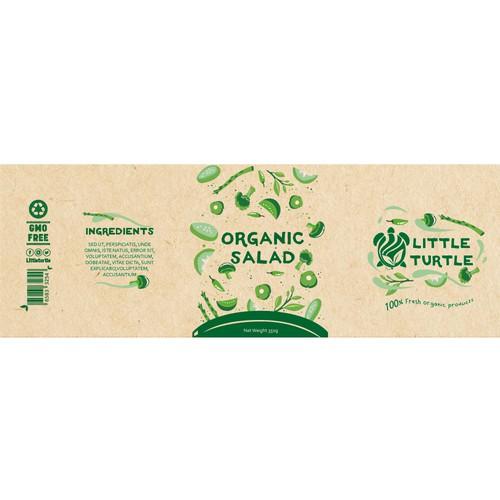 Logo & Packaging design for salad bowl