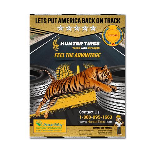 Flyer for Advantage Tires