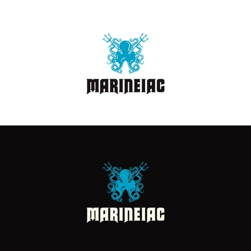 Logo concept for marine company