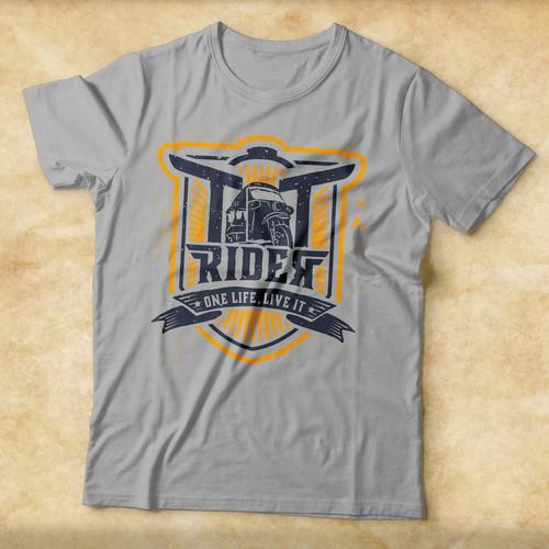 TT Rider tees