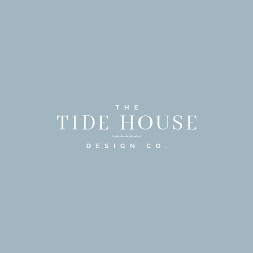 Logo for interior design by the sea