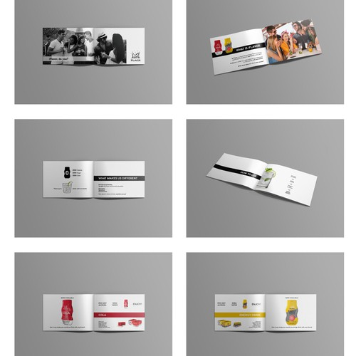 Booklet for iFlavor drink enhancer