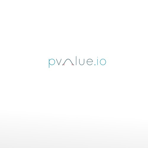 pvalue logo design