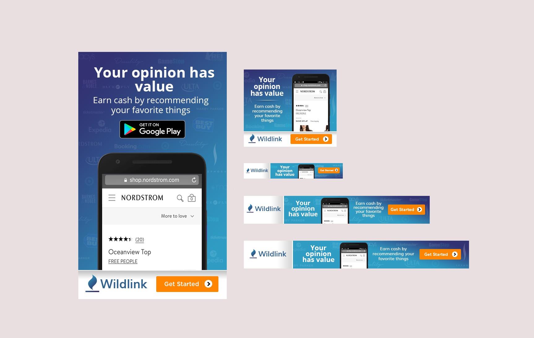Wildlink - 2018 Summer Digital Ad Campaign
