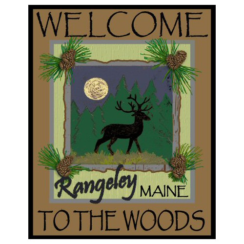 Welcome to the Woods Rustic Lodge Sign
