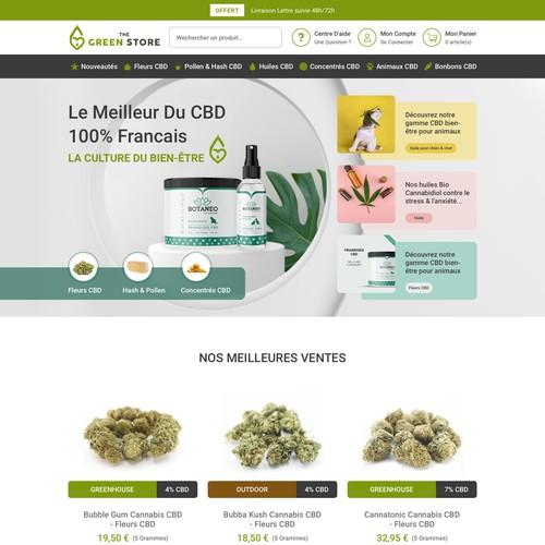 Modern CBD Website