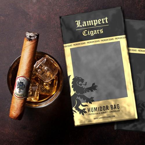 Humidor bag and label cigar