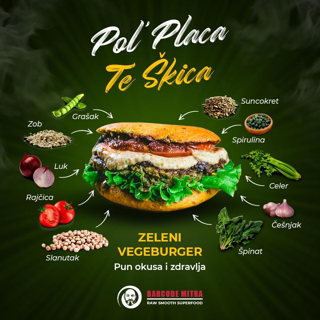 Veggie Burger poster