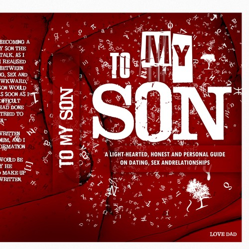 "Create a coverpage for my eBook ""To My Son."""
