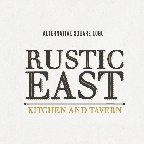 Rustic East Logo Design