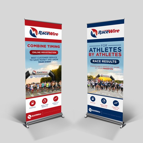 RaceWire  Pull-Up Banner