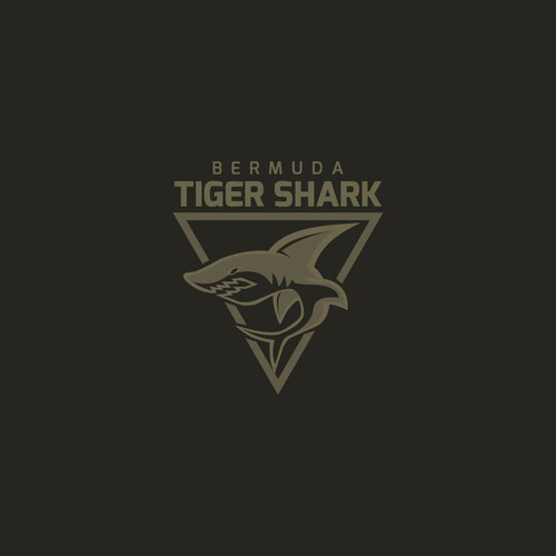 Logo Concept for Bermuda Tiger Shark
