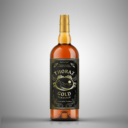 THORAZ GOLD CARIBBEAN RUM PUNCH