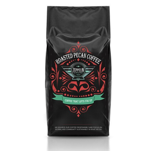 Artisan Coffee Bag Art