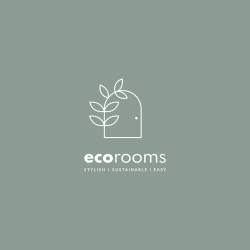 Logo for Eco-Friendly Interior Design Business