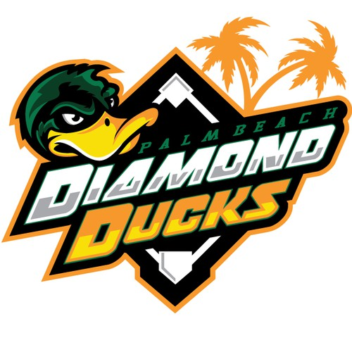 duck baseball mascot
