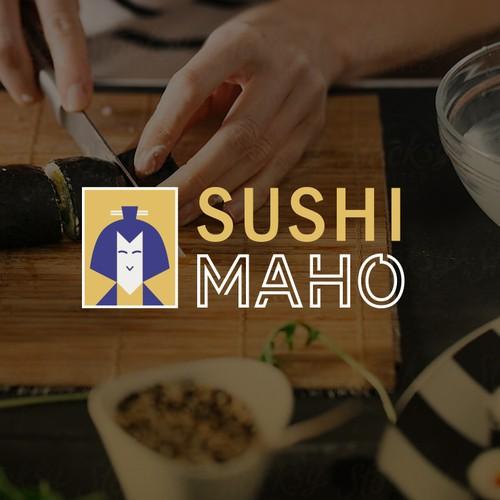 Logo Design Sushi Kit for homemade sushi