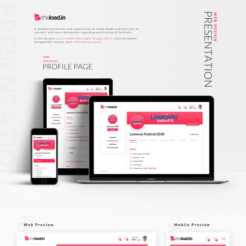 TheLoad.in Webdesign Presentation