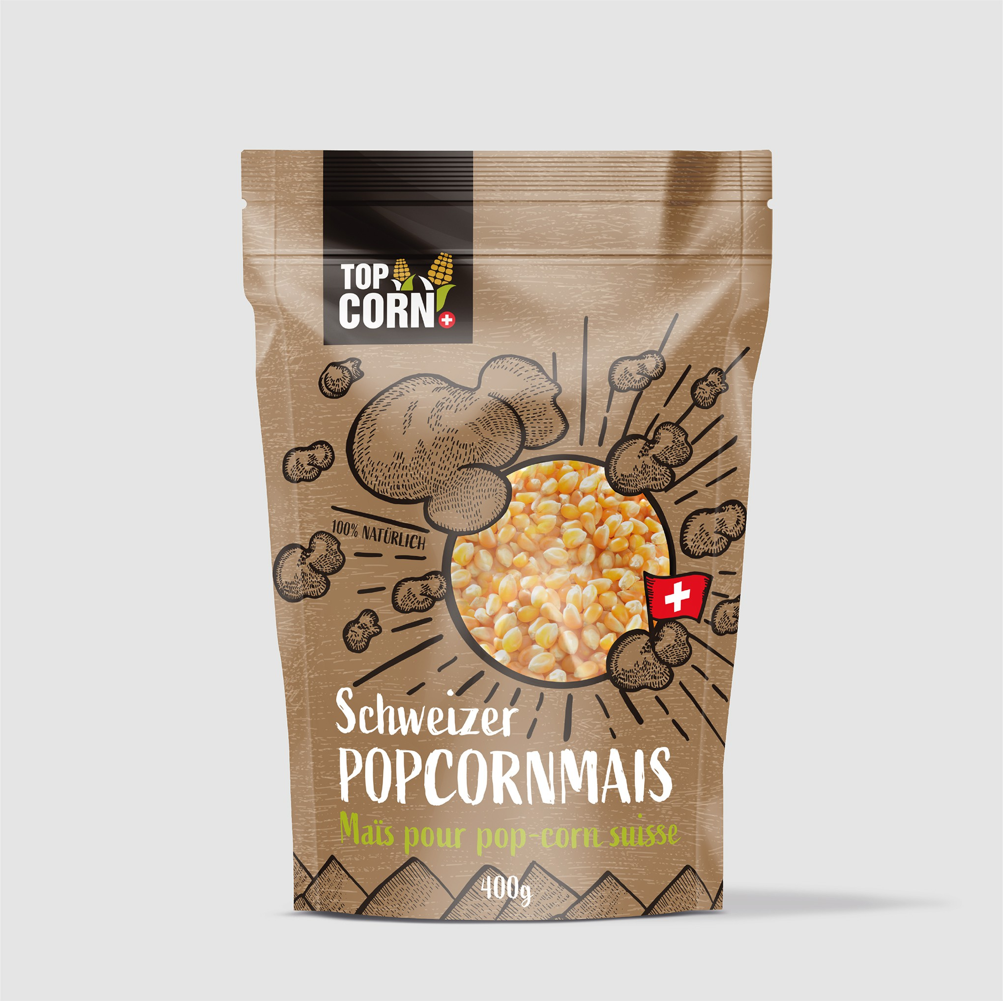 Wanted: A food packaging that conveys Swissness and naturalness