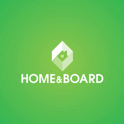 Logo for innovative startup Home & Board.
