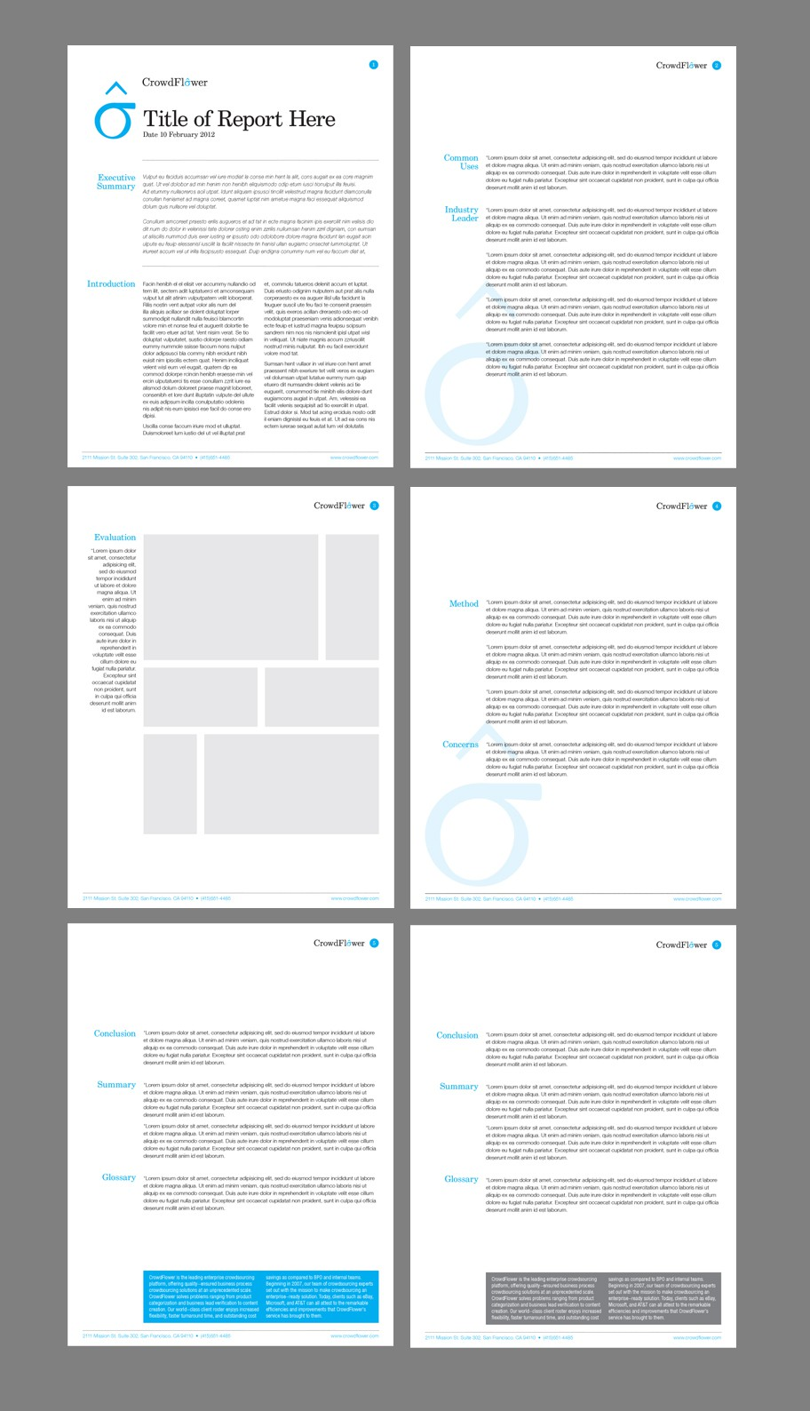 Marketing Paper Templates for CrowdFlower