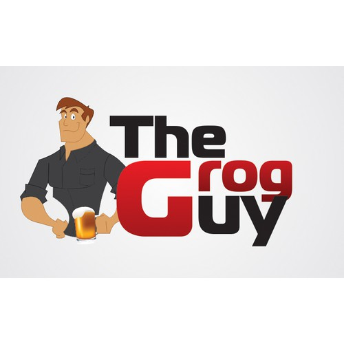 Create the next logo for The Grog Guy