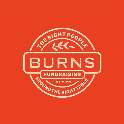 Fundraising Stamp Logo