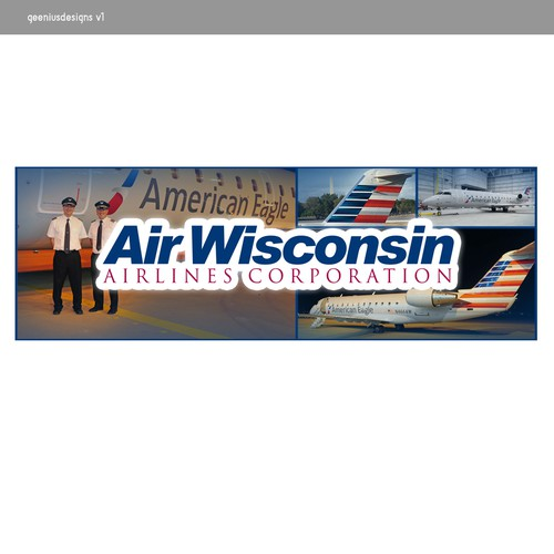 Signage for AirWisconsin