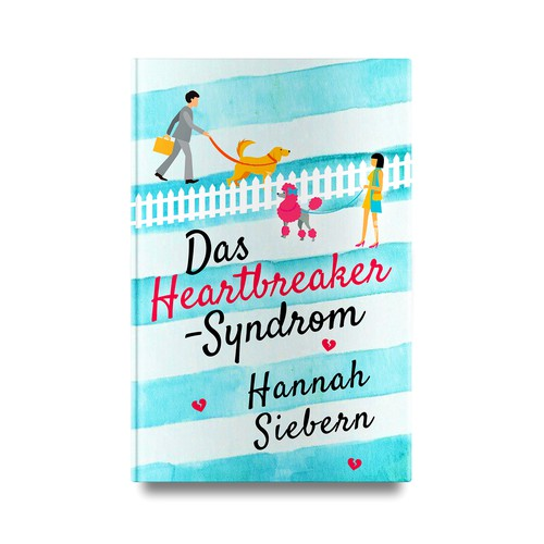"Book cover for ""Das Heartbreaker Syndrom"""