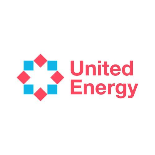 'United Energy' logo