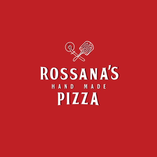 Rossana's hand made pizza