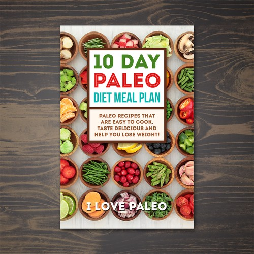 Paleo Diet Meal Book Cover